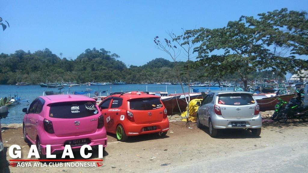 Touchdown Sendang Biru Beach