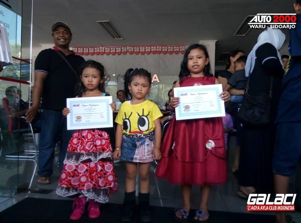 Juara Kids Colouring, Selamat ya Adek-Adek...