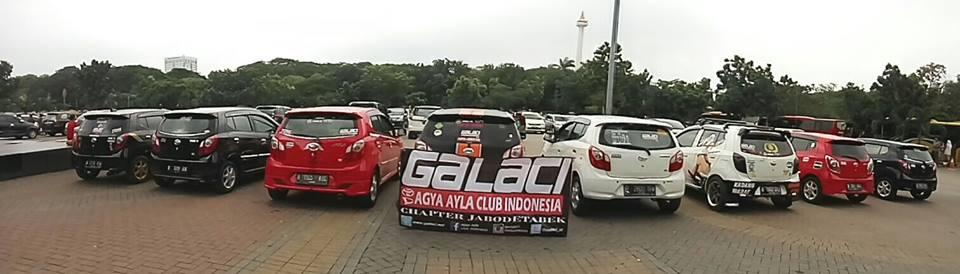 Parkir KR Galaci chapter Jabodetabek