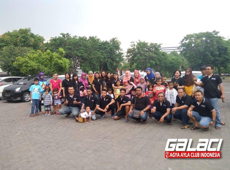 Keluarga Besar AGYA AYLA CLUB INDONESIA chapter Surabaya, Sidoarjo, Gresik dan Kediri