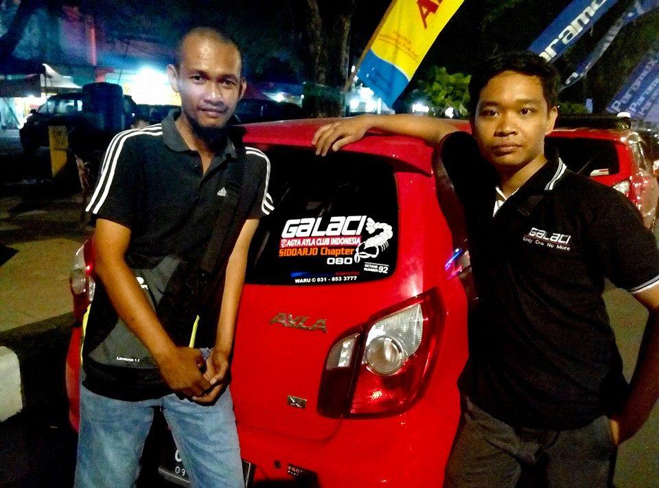 Member Baru dari Sidoarjo (kiri: Om Suko GLC 080) bersama Ketchap Sidoarjo