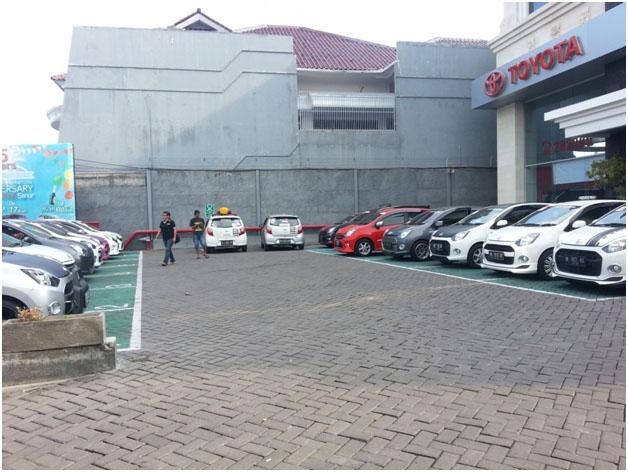 Kunjungan ke Toyota Auto2000 Sanur, sekaligus silaturahmi dan penyampaian seminar singkat mengenai Eco Driving.