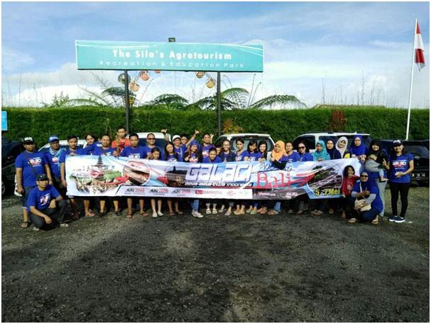 Foto bersama di Sila's Agrotourism Bali.